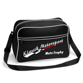 Klassik Motorsport Retro Bag, black