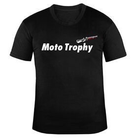 Klassik Motorsport U-Neck T-Shirt MEN, black