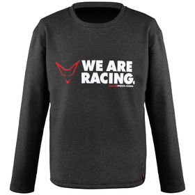 Sweatshirt We are racing, grey, unisex