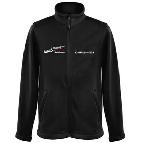 Klassic Motorsport Soft Shell Jacket, pers. imprint...