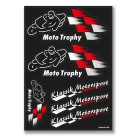 Klassik Motorsport Decal Sheet, black
