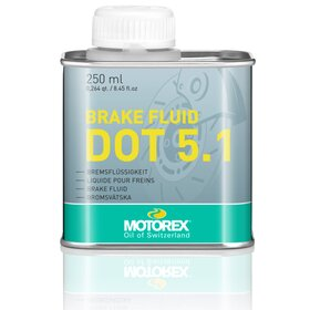 Brake Fluid DOT 5.1, 250 ml