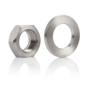 BMW S1000RR Titanium Nut and Washer for Rear Axle
