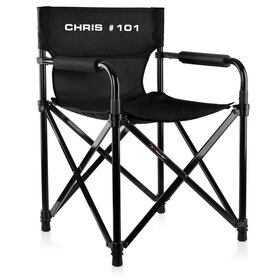 Jan # 44 Directors Chair compact foldable, print optional!