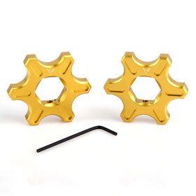 Ducati Preload Adjuster, star-shaped, 17 mm