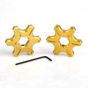 Ducati Preload Adjuster, star-shaped, 14 mm