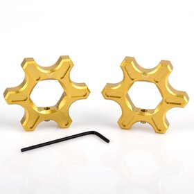 Ducati Preload Adjuster, star-shaped, 19 mm