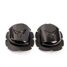 RACEFOXX Wood Kneesliders, pair, black