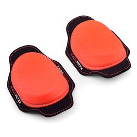 RACEFOXX Kneesliders, pair, neon orange
