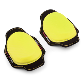 RACEFOXX Kneesliders, pair, neon yellow