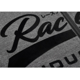 RACEFOXX Vintage Sweat Jacket , charcoal/black